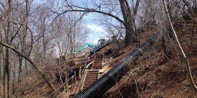 Artpark Steel Stairway Replacement