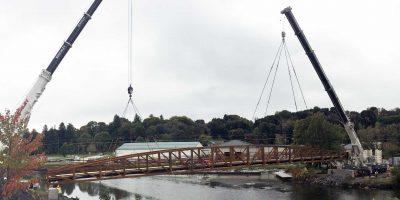 Jamestown Intermodal Transportation Project Pedestrian Bridge