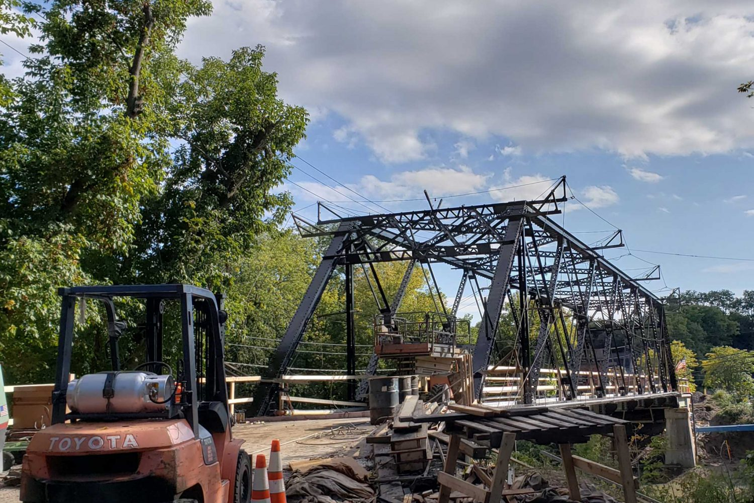 Rehabilitation of Marsh Road Bridge over Erie Canal