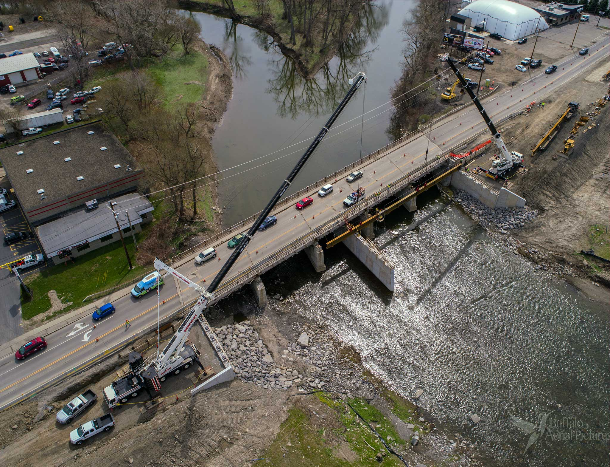 Route 240 (Harlem Road) over Buffalo River Bridge Replacement