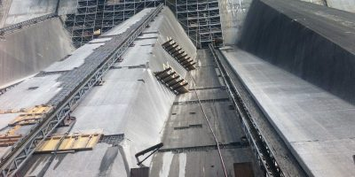 NYPA Project Dam Face Reconstruction