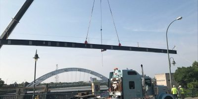 Erection of structural steel