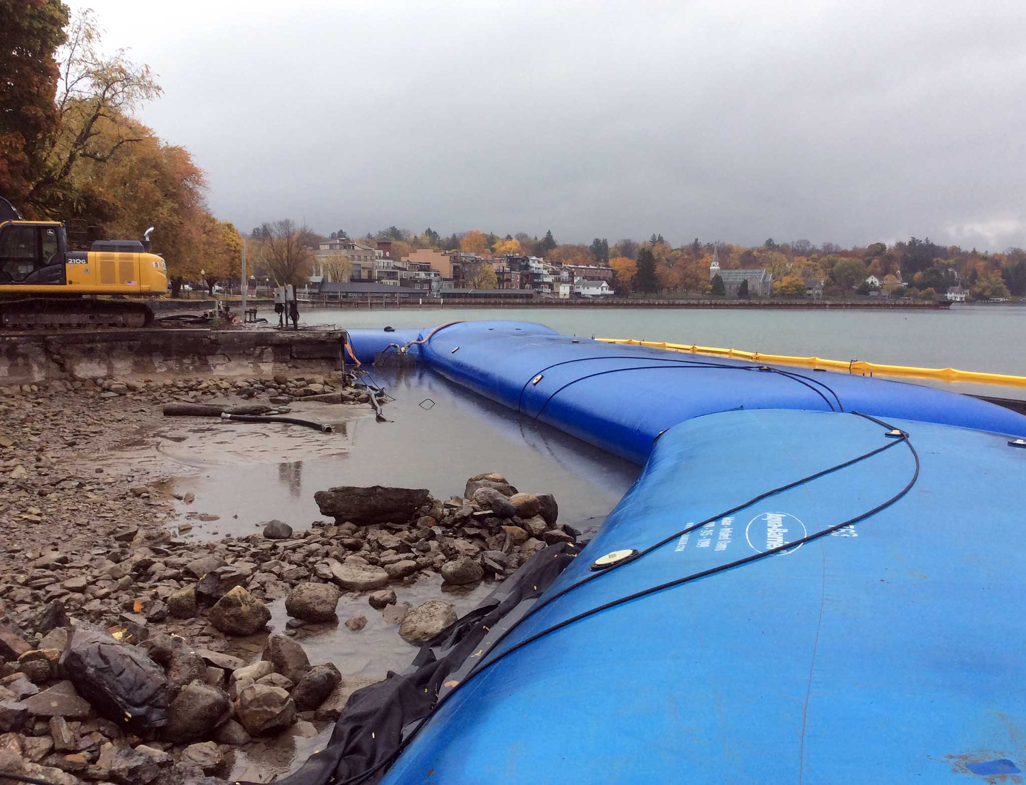 Skaneateles Lake Cofferdam